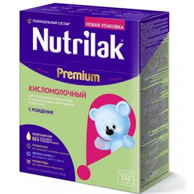 Кисломолочная смесь Nutrilak Premium с рождения, 350 гр