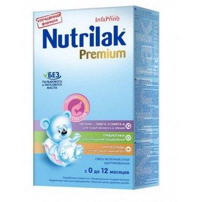 Смесь Nutrilak Премиум молочная от 0-12 мес, 350 гр