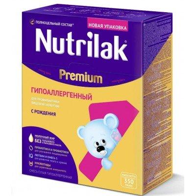 Смесь молочная Nutrilak Premium1 ГА с 0 месяцев 350 гр