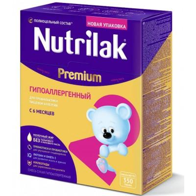 Смесь молочная Nutrilak Premium2 ГА, с 6 месяцев, 350 гр