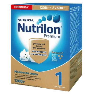 """Сухая молочная смесь """"Нутрилон Premium"""" -1, 1200 гр/6 уп"""