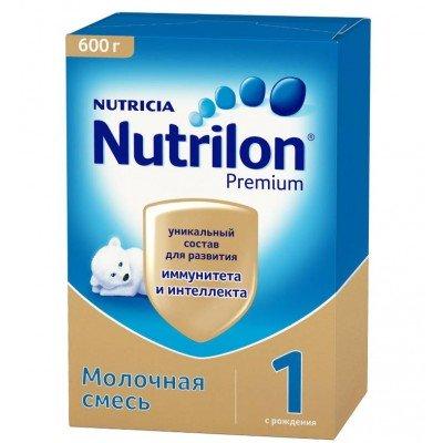"""Сухая молочная смесь """"Нутрилон Premium"""" -1, 600 гр/10 уп"""