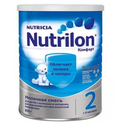 Нутрилон Комфорт 2, 6-12 мес., 800 гр
