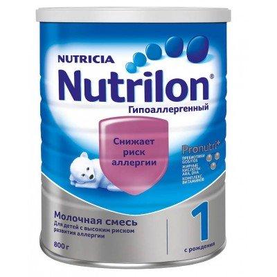 Нутрилон Гипоаллергенный 1 (Nutrilon) - специальная смесь, 0-6 мес., 800 гр