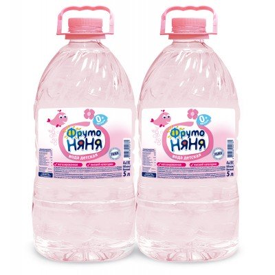 Фрутоняня Вода 5 л Бутылка пластик