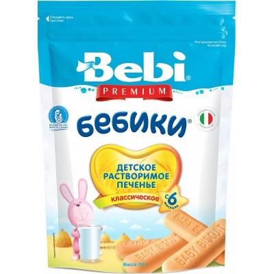 Печенье Bebi Premium «Бебики» классическое с 6 мес. 115 гр
