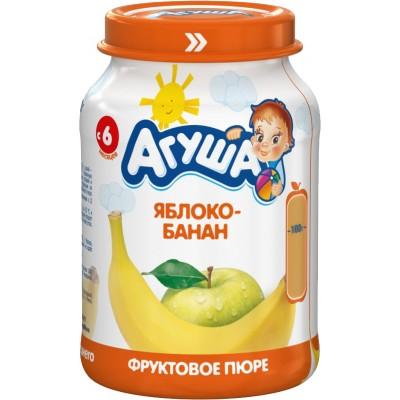 Пюре Агуша Яблоко-банан, упак 8х200 гр