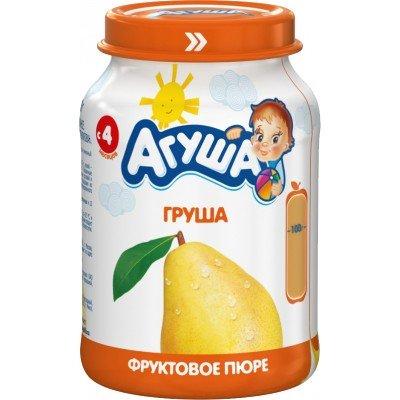 Пюре Агуша Груша с 4 мес, упак 8х200 гр