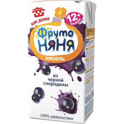 Кисель ФрутоНяня Черная смородина, упак 27х0,2л