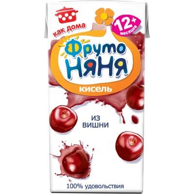 Кисель ФрутоНяня Вишня, упак 27х0,2л