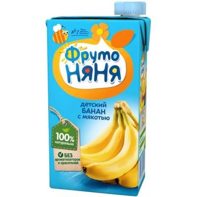 (Упак 25х0,5л) Нектар ФрутоНяня из бананов 0,5 л от 3 лет