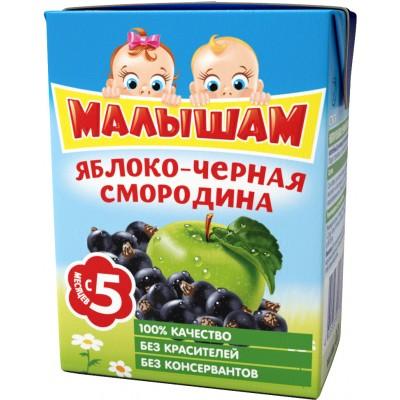 (Упак 27х0,2л) Нектар ФрутоНяня Малышам Яблоко и черная смородина с 5 мес. 200 мл