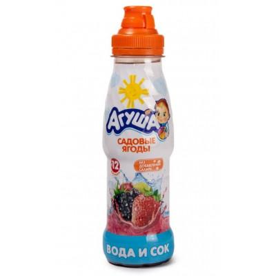 Вода с соком Агуша Садовые ягоды 300 мл (упак 6 шт)