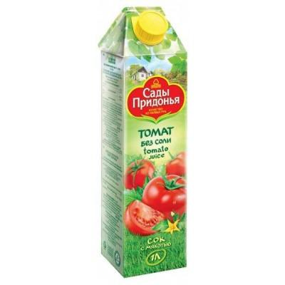 (Упак 12х1л) Сок «Сады Придонья» томатный восстановленный 1л