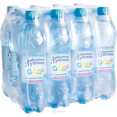 Вода Бабушкино лукошко 5л Бутылка пластик