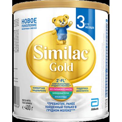 Симилак GOLD 3 (Similac) - молочная смесь, 0-6 мес., 400гр