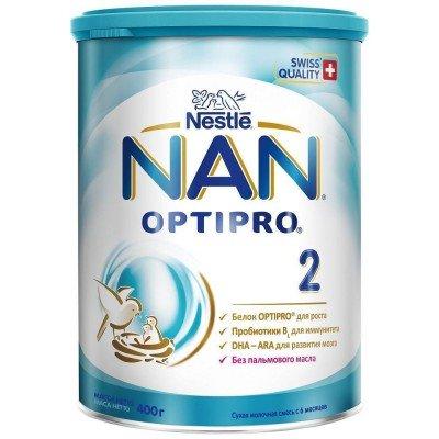 НАН 2 Опти Про- мол. смесь , 6-12 мес., 400/12 оптом