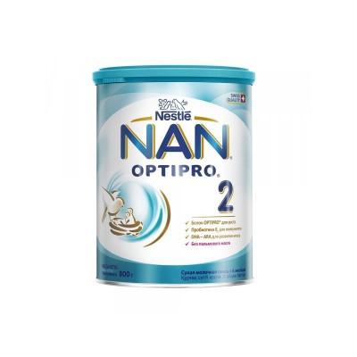 НАН 2 Оптипро- мол. смесь, 6-12 мес., 800 гр (6шт/упак)