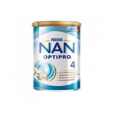НАН 4 Оптипро - молочная смесь, 400гр (12шт/упак)
