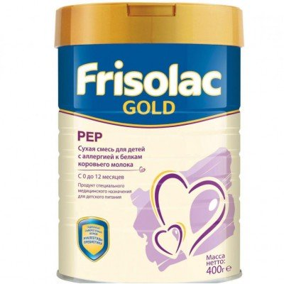 Молочная смесь Frisolac Gold PEP, 0-12 мес., 400 гр.